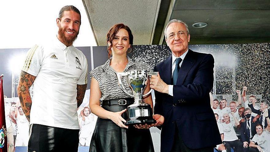 """Florentino: """"No es una Liga más, es un símbolo frente a la adversidad"""""""