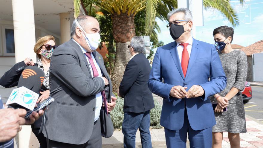 Román Rodríguez garantiza el presupuesto del nuevo Centro de Salud de El Rosario para 2021