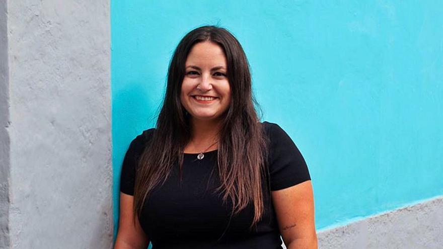"""Laura Fuentes: """"Ha hecho más por Canarias Yolanda Díaz que ningún gobierno anterior"""""""