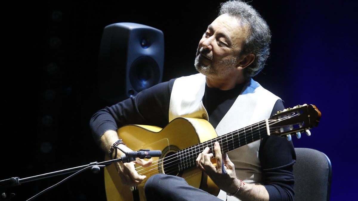 José Antonio Rodríguez, durante su actuación en el Gran Teatro de Córdoba.