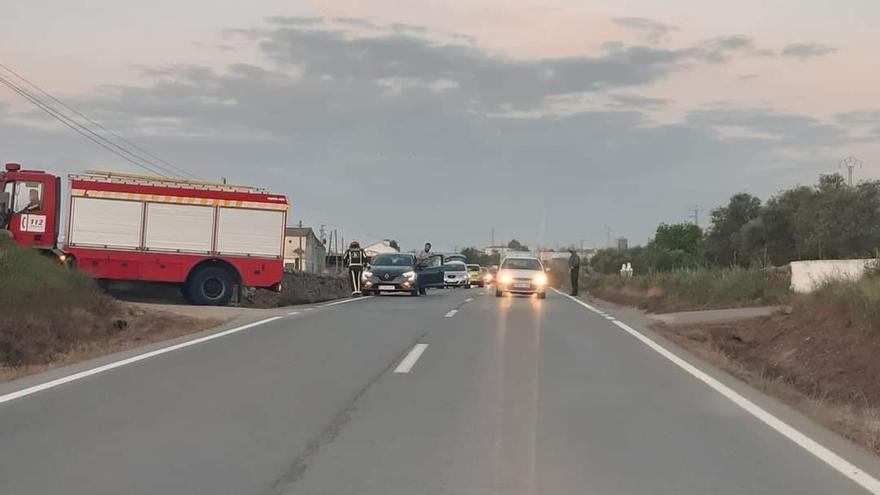 Un herido en un accidente de tráfico a la salida de Pozoblanco