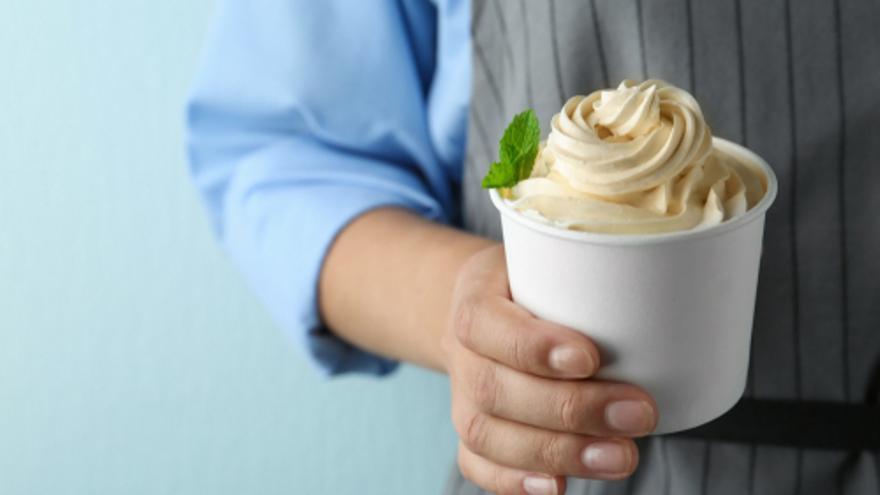 Crema helada de yogur