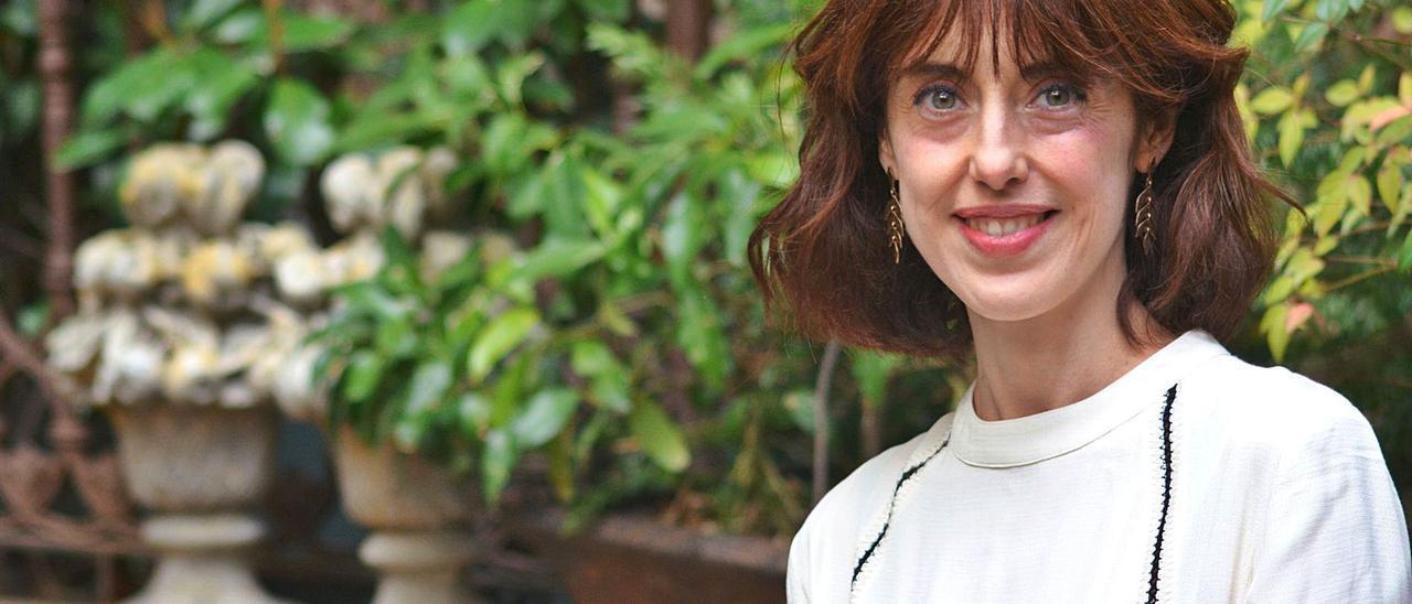 La escritora Irene Vallejo.   Elena Palacios