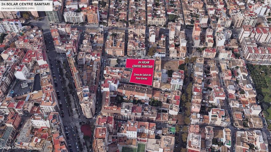 Cort cede el solar de Son Canals para el nuevo centro de salud de Pere Garau