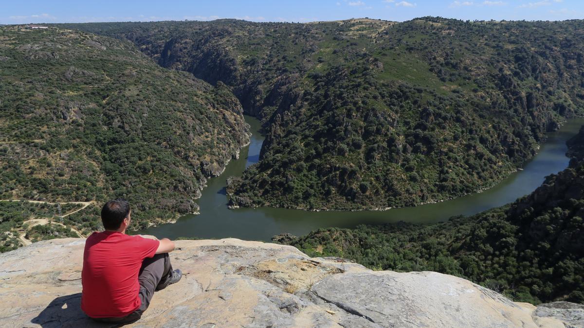 Mirador de Picote, en los arribes del Duero.