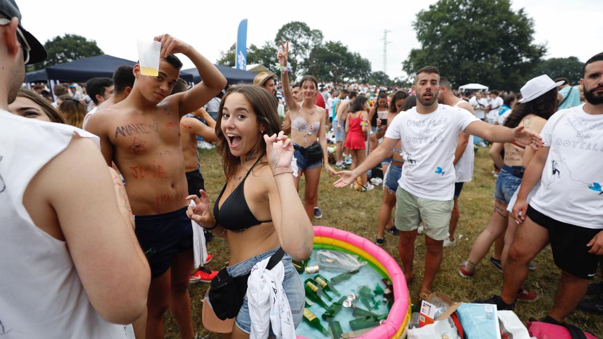 El Carmín: así se vivió en los últimos años la gran fiesta de Siero (2019)