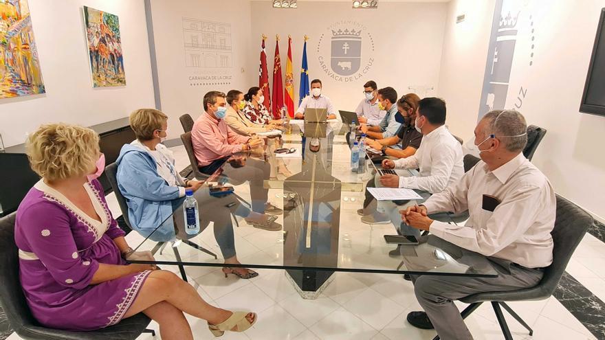 El alcalde de Caravaca anuncia una reestructuración del equipo de Gobierno