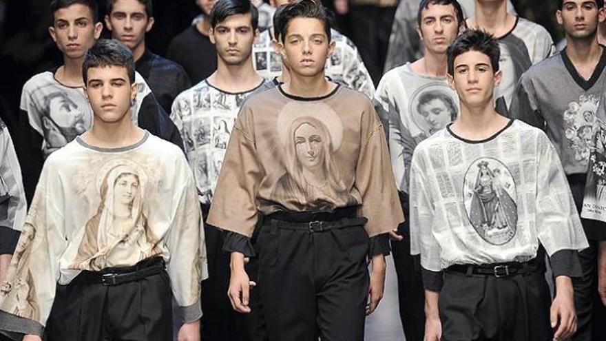 Dolce&Gabbana para hombre: devoción religiosa y estampados
