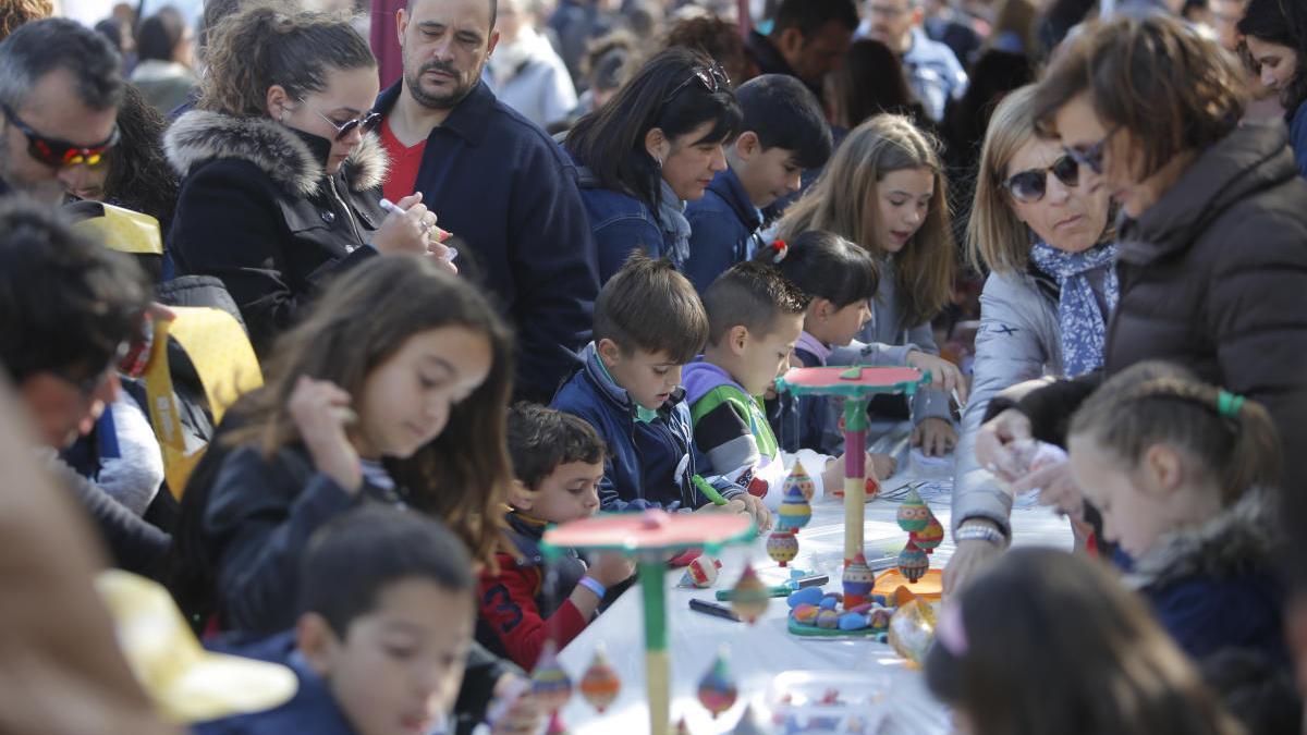 Trobada de Centres en Valencià de la Ribera celebrada en Carlet el pasado año.