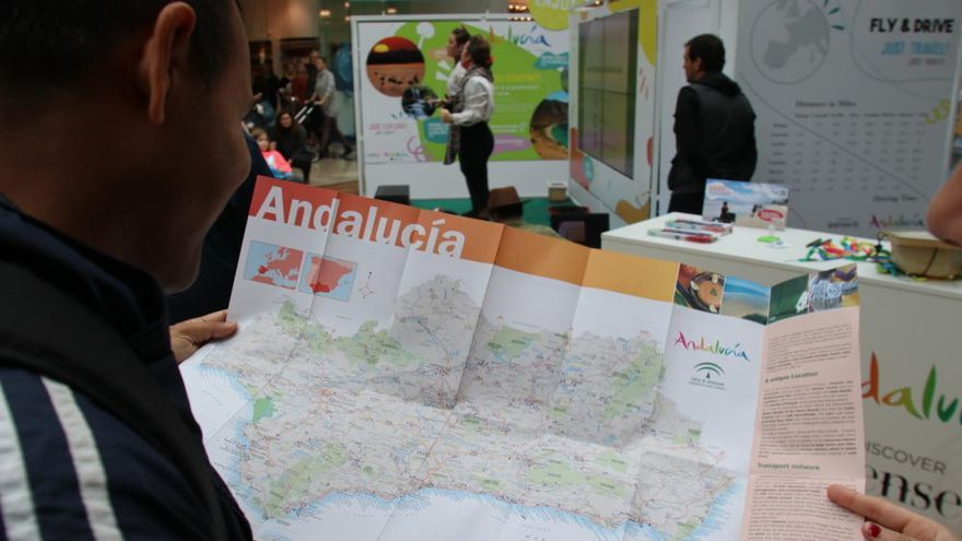 Andalucía espera más de 13.000 visitas en su stand de la WTM