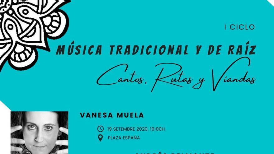Andrés Belmonte participa el I Ciclo de Música Tradicional y de Raíz de Alborache