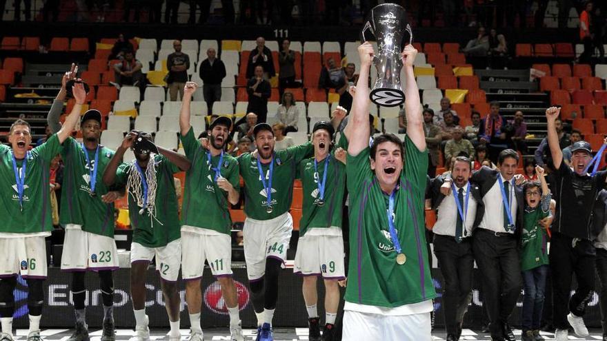 El Unicaja recuerda su título de Eurocup