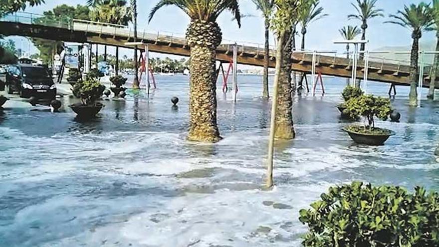 """Aterrados por la 'rissaga' en la bahía de Alcúdia: """"Suerte que no hubo heridos"""""""