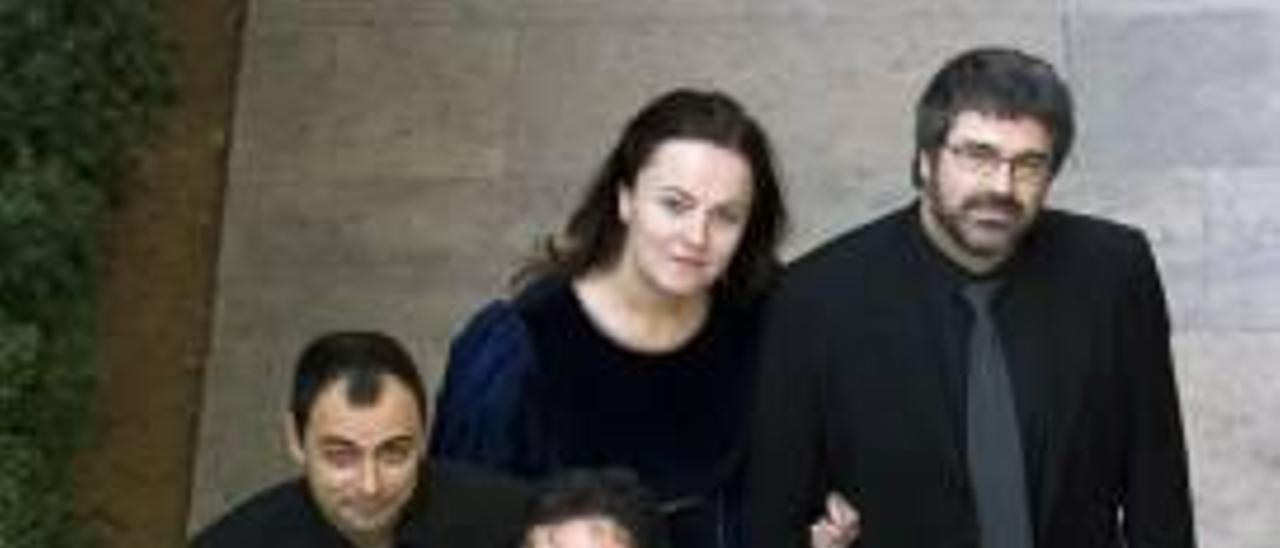 Magraner, con viola, junto al resto de Capella de Ministrers.