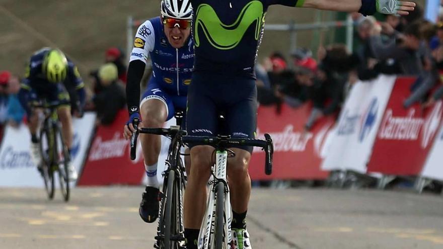 Valverde responde a la sanción de los jueces con un triunfo en La Molina