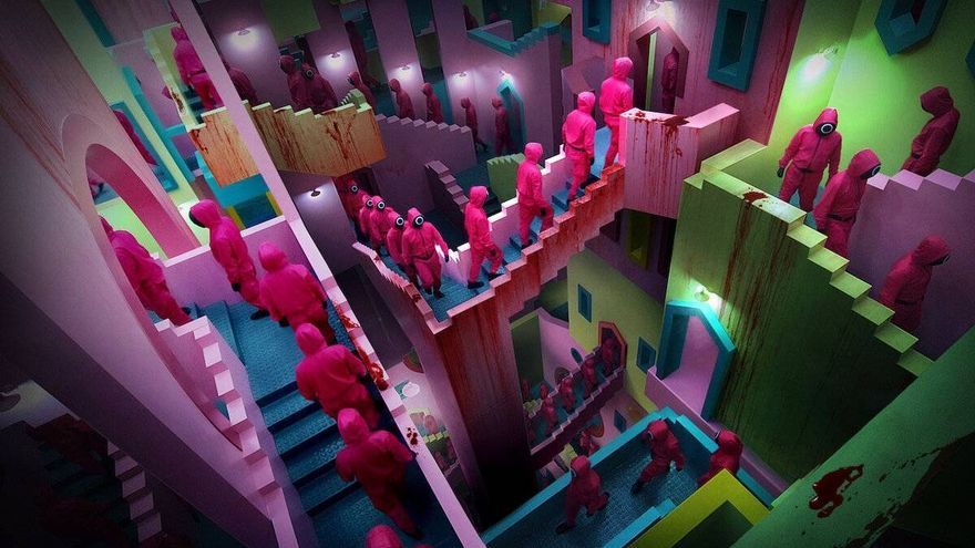 "¿Se ha inspirado Netflix en la Muralla Roja de Calp para la serie ""El juego del calamar""?"