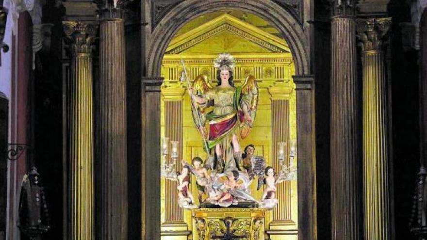 Arrancan los actos en honor del arcángel san Rafael