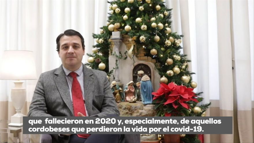"""Mensaje de Navidad del alcalde de Córdoba: """"Solo unidos podemos afrontar los grandes retos"""""""