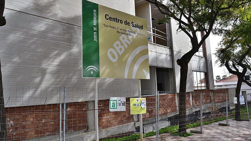 OSP pide la declaración de emergencia del centro de salud para agilizar la obra
