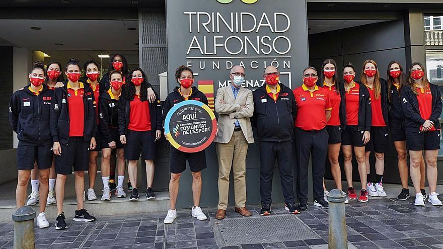 Día de descanso   Visita de la seleccción a la Fundación Trinidad Alfonso