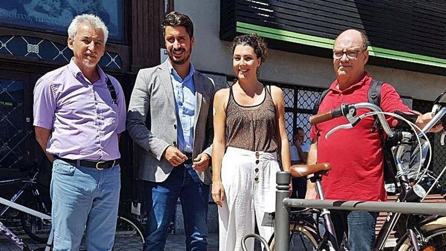 El gobierno lagunero apuesta por el uso de la bicicleta en el municipio