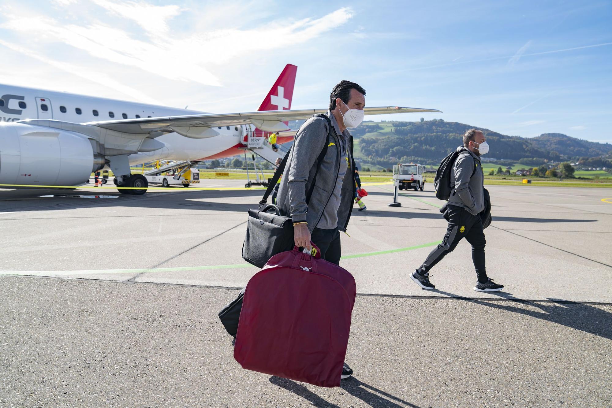 El Villarreal aterriza en Berna para medirse al Young Boys en la Champions