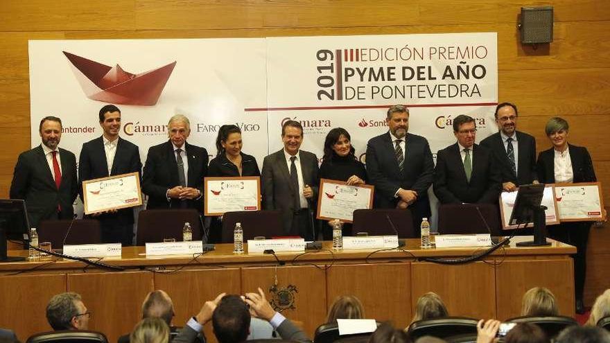 Coverwind Solutions, premio pyme del año de Pontevedra