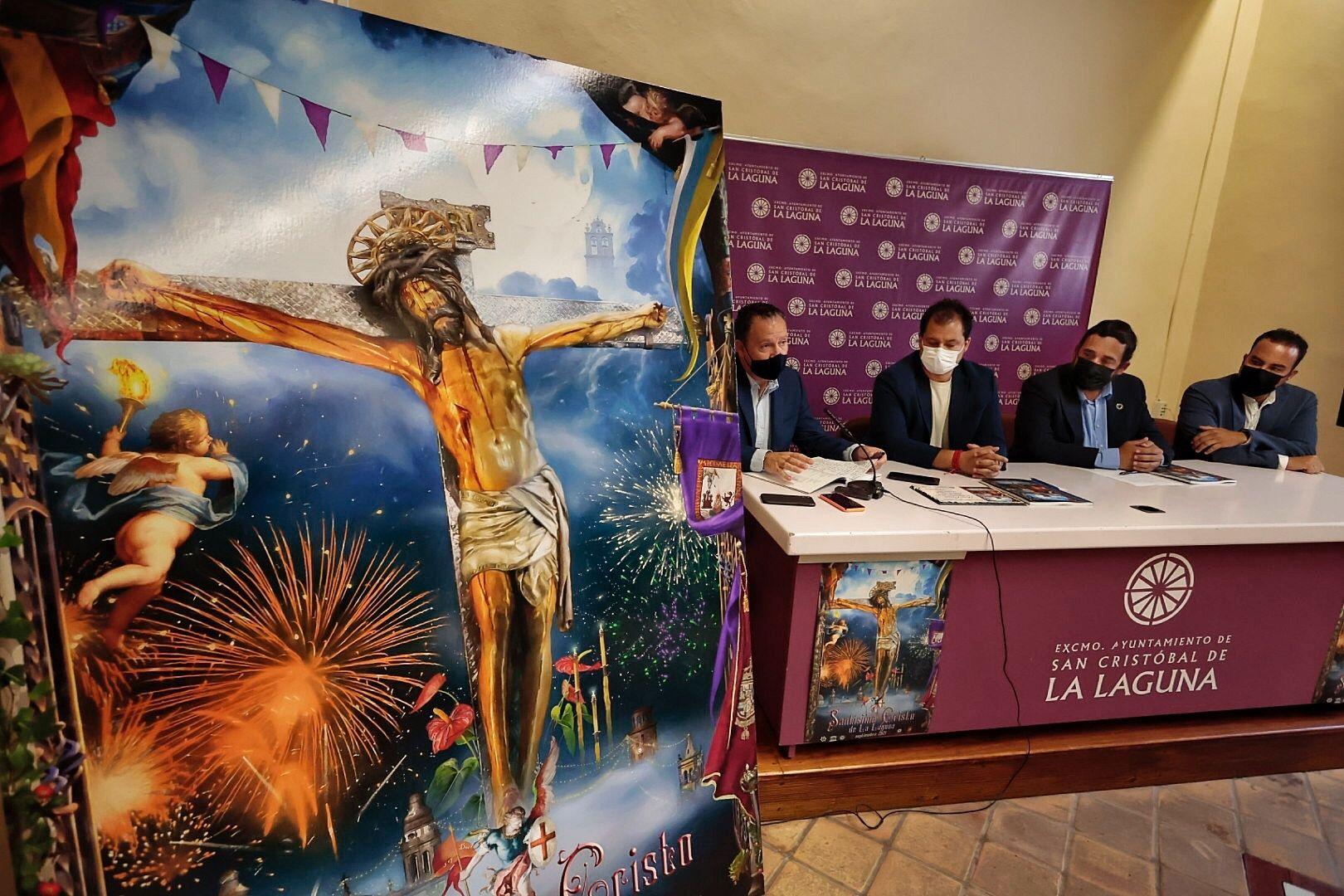 Presentación del cartel y programa de las Fiestas del Cristo 2021