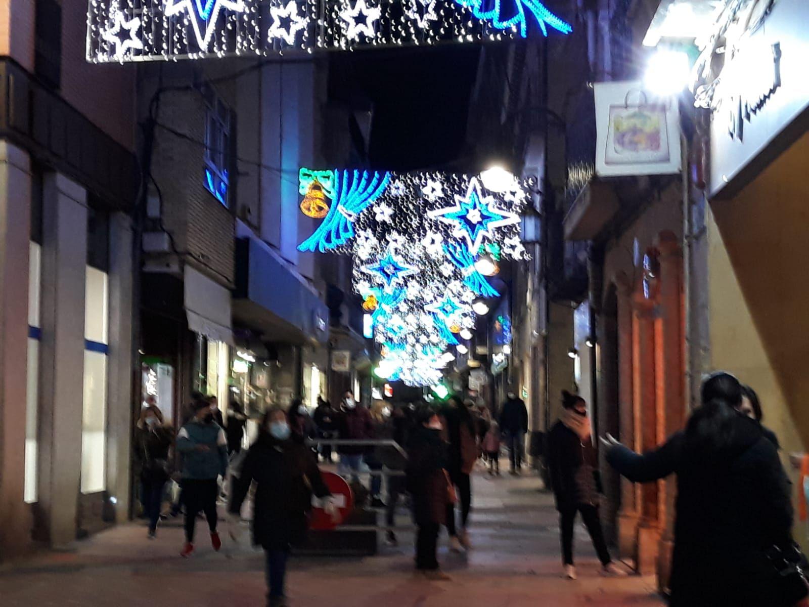 Benavente enciende las luces de Navidad