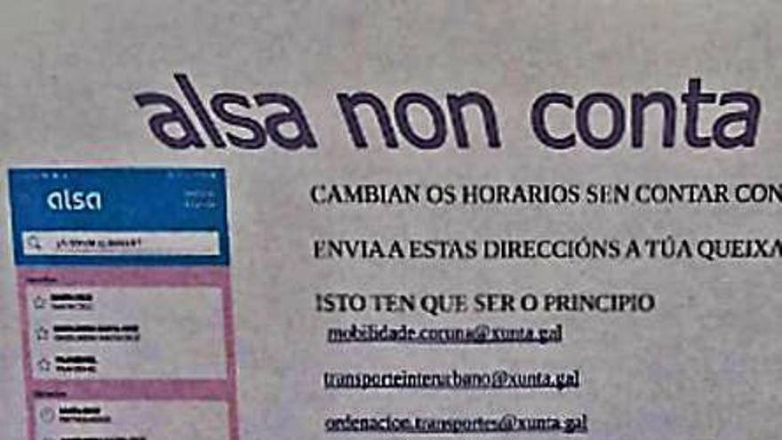 """Vecinos de Arillo critican las nuevas líneas y demandan más frecuencias y """"puntualidad"""""""