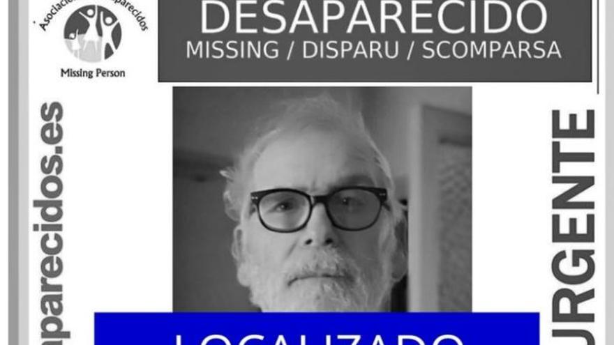 Localizan al hombre de 73 años desaparecido en Palma