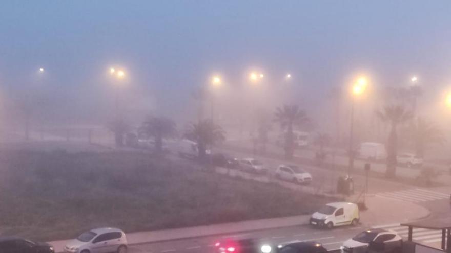 LAS FOTOS DE LOS LECTORES | Castellón amanece cubierta por una densa capa de niebla