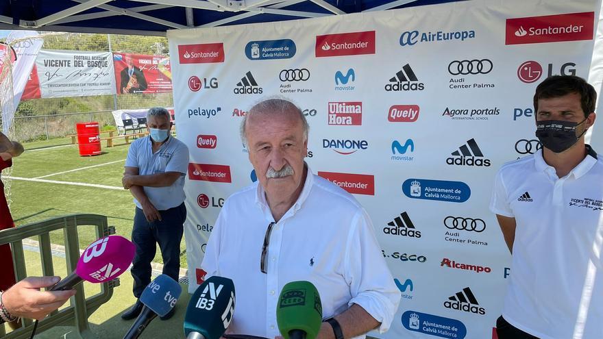 """Vicente Del Bosque: """"Los mallorquinistas deben estar ilusionados con el equipo"""""""