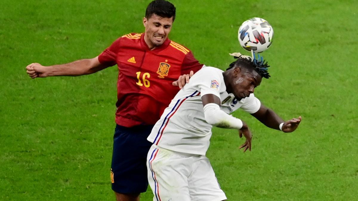 Final de la Liga de Naciones: España - Francia, en imágenes