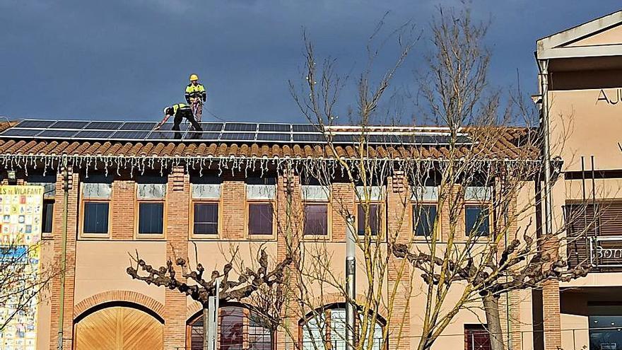 L'escola Les Mèlies de Vilafant disposarà de plaques solars a la tardor