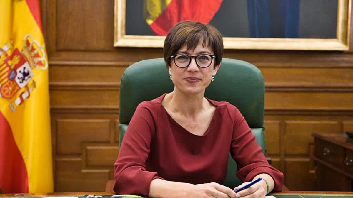 María Gámez, directora general de la Guardia Civil. | INFORMACIÓN