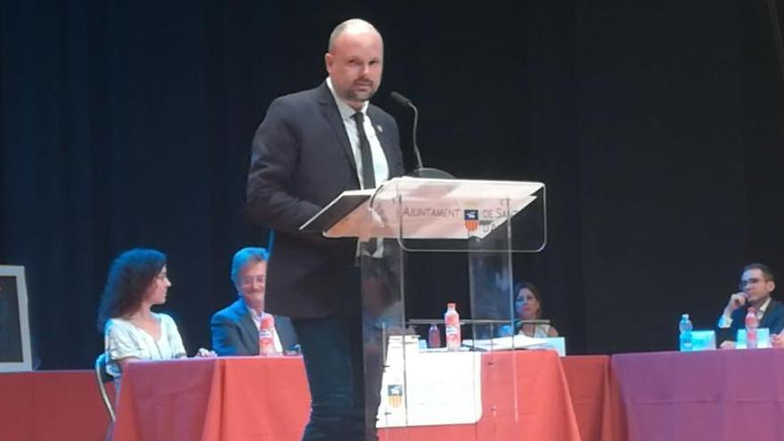 La portavocía del grupo municipal abre la primera crisis en el PSOE de Sant Joan