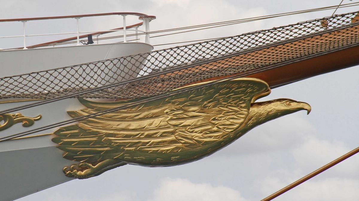 "Die ""Sea Cloud Spirit"" am Mittwoch (1.9.) vor Palma de Mallorca"