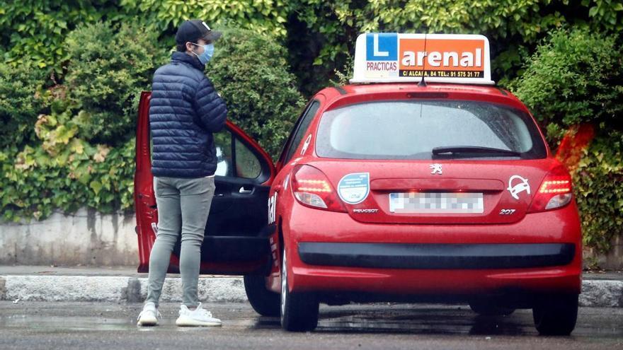 Froilán, centrado en conseguir el carnet de conducir