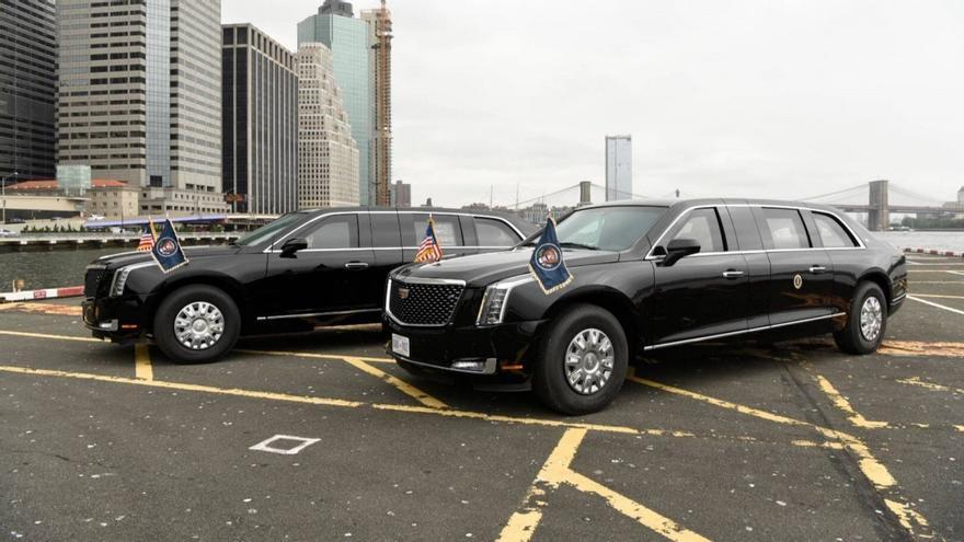 'The Beast', la limusina Cadillac que Biden hereda de Trump