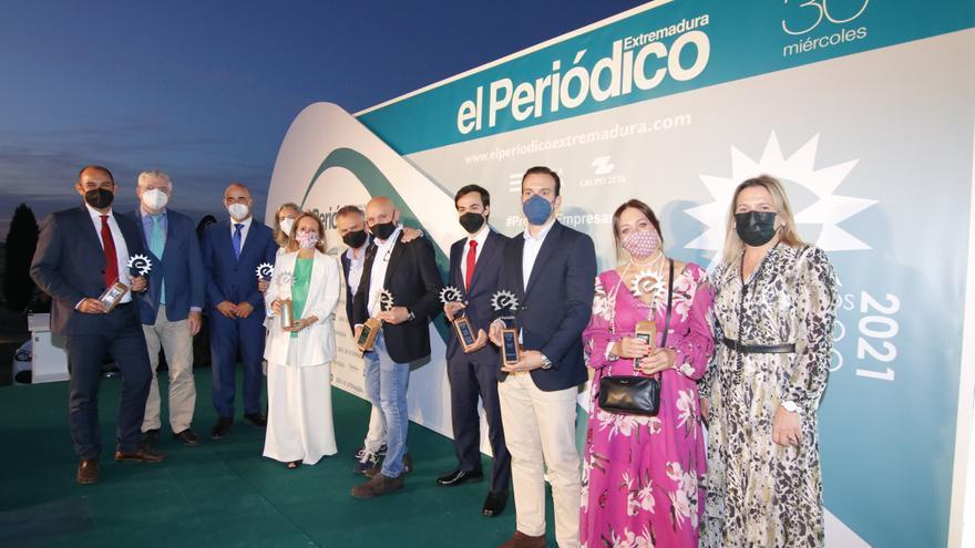 Conoce a los ganadores de los XXVI Premios Empresario Extremeño