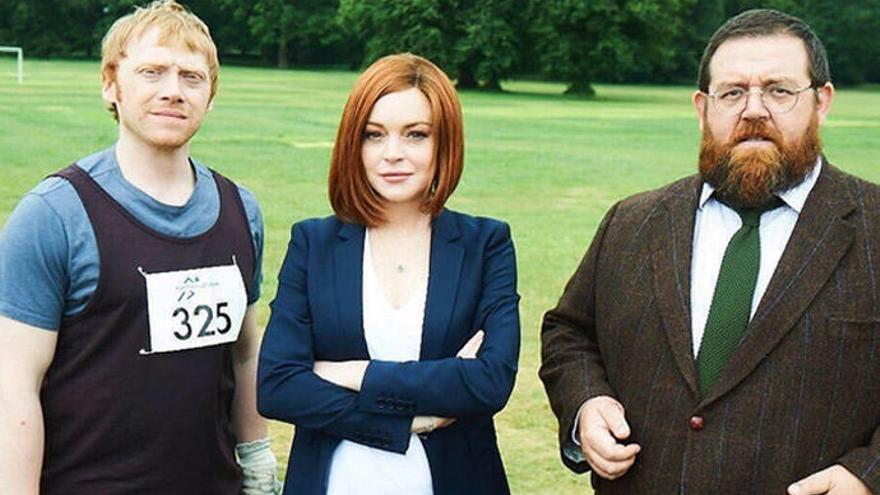 Lindsay Lohan ficha por la televisión inglesa
