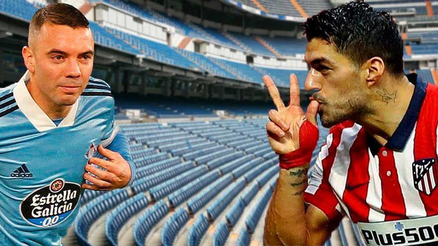 Aspas y Suárez, duelo de 'pistoleros'