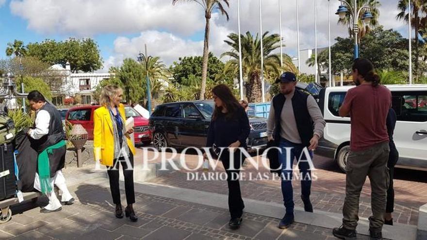 Salma Hayek ya está en Lanzarote