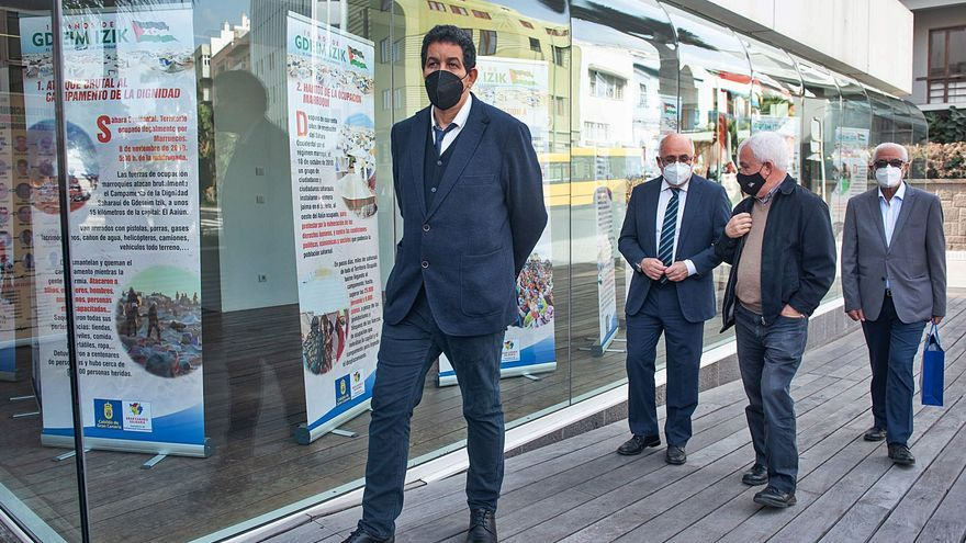 """El Cabildo exige a Pedro Sánchez que dé un """"paso al frente"""" en el Sáhara"""