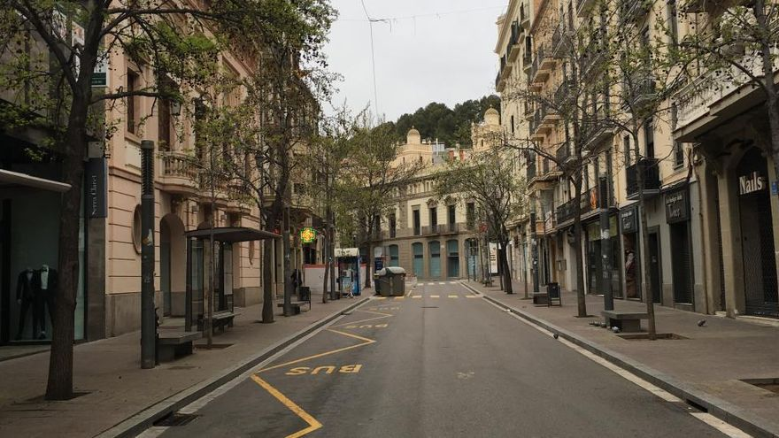Detingut per un robatori amb violència i intentar furtar al Zara de Manresa