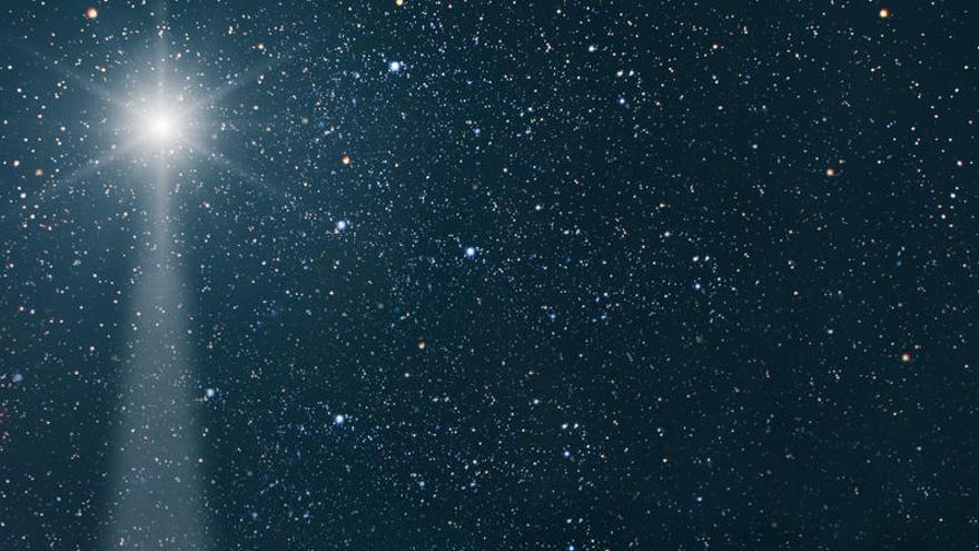 Canarias, uno de los mejores sitios desde donde ver la noche de este lunes la 'Estrella de Belén'