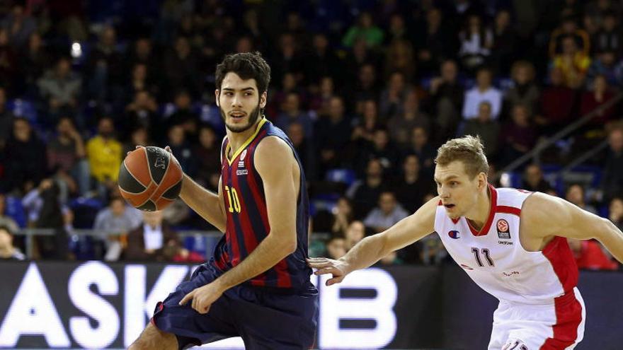 El Barça empequeñece al 'gigante' Marjanovic y toma aire