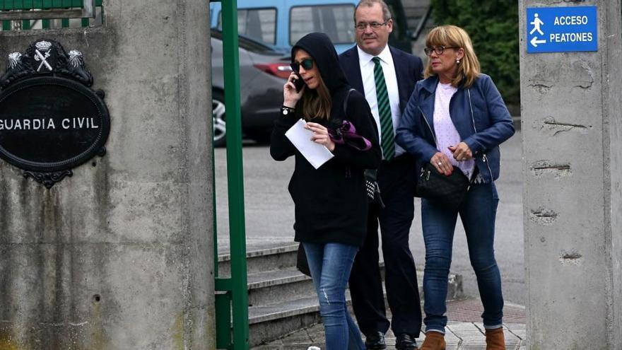 La familia de Postigo declara ante la Guardia Civil