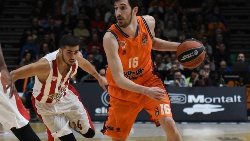 El Valencia Basket renueva a Guillem Vives hasta 2019